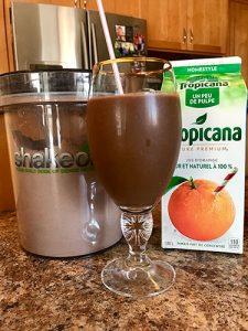 Vegan Chocolate Orange Shakeology