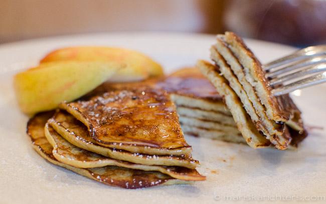 Flourless Banana Pancakes - Gluten-Free