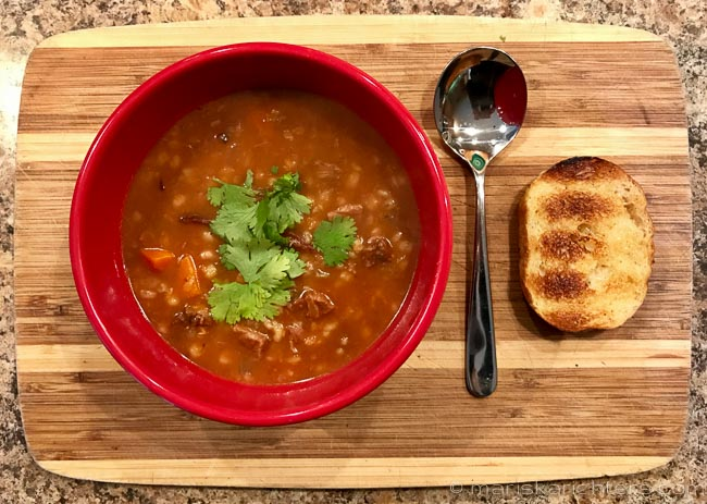 Ready to Eat - Slow Cooker Beef Barley Soup